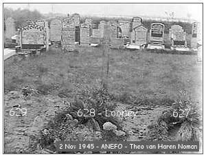 Vollenhove - Cemetery - 02 Nov 1945 - beeldbank #901-0096 - ANEFO by Theo van Haren Noman