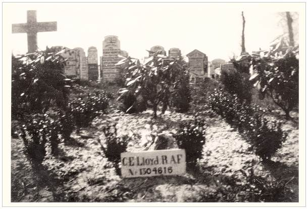 1946 - Vollenhove General Cemetery - grave 629 - Lloyd