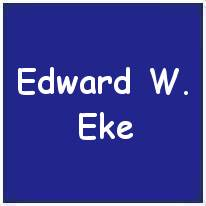 1332191 - Sergeant - W.Operator / Air Gunner - Edward William Eke - RAFVR - Age 20 - KIA