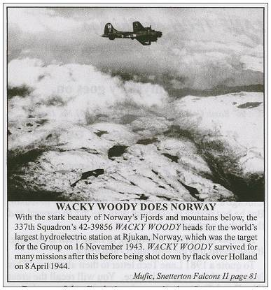 Wacky Woody does Norway