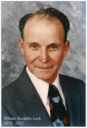 William Burdette Lock - 1919 - 2013 - Age 94