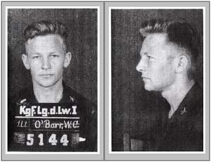 1st Lt. William C. O'Barr - POW - Stalag Luft 1 - POW No. 5144