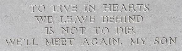 Epigraph - William Christopher Wood - Emmeloord Cemetery