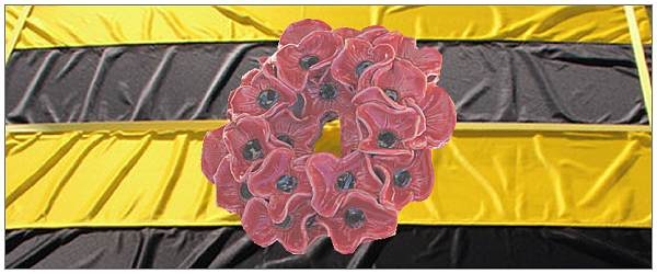 Poppies on Workum flag - artist impression