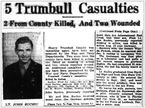 Newsclip - 21 Oct 1944 - Warren Tribune Chronicle